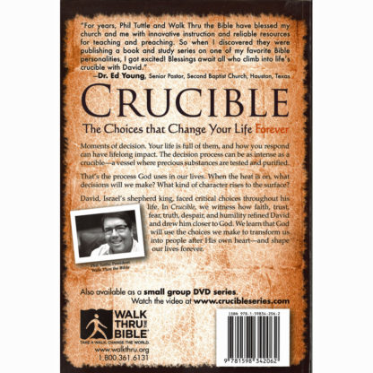 Crucible Book Back
