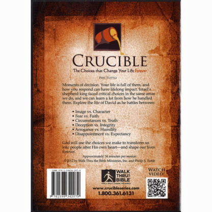 Crucible DVD Back
