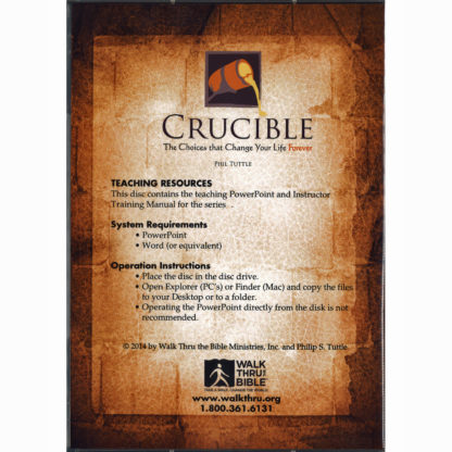 Crucible Teaching Resources Back