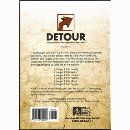 Detour DVD Back