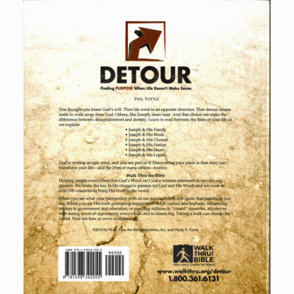 Detour Workbook Back