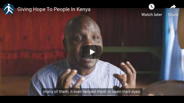Give hope in Kenya