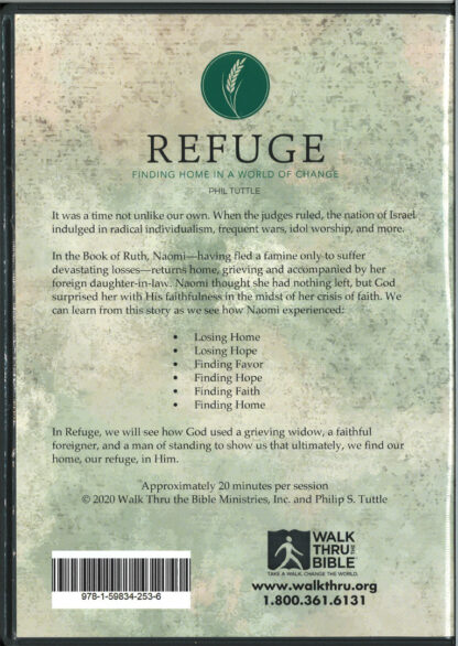 Refuge DVD Back