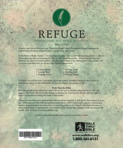 Refuge Workbook Back