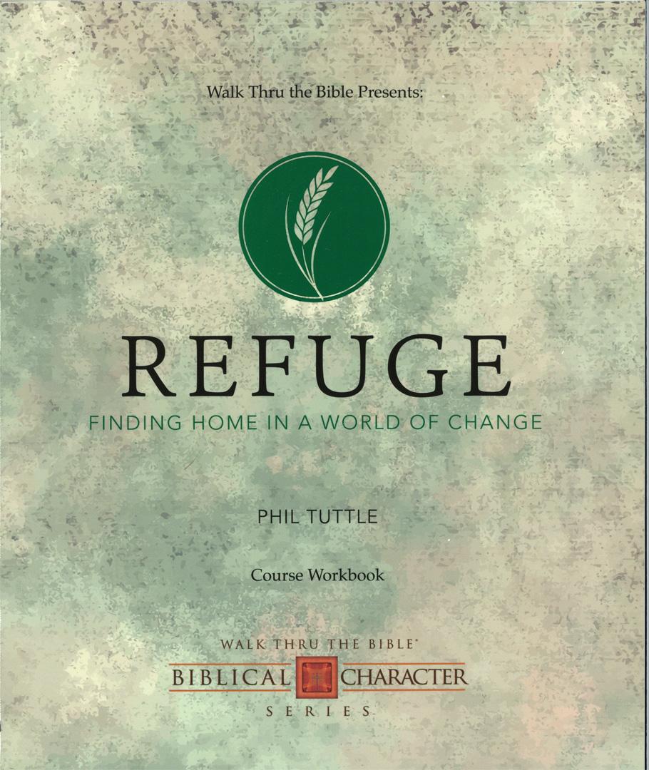 Refuge Workbook Front