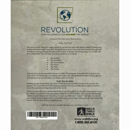 Revolution Workbook Back
