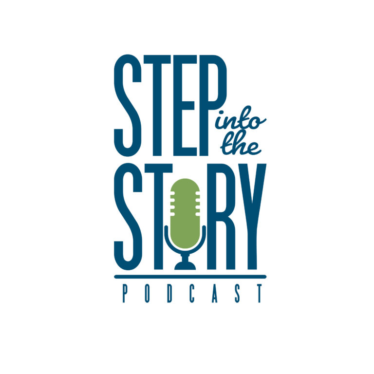 Step Into The Story Podcast Logo
