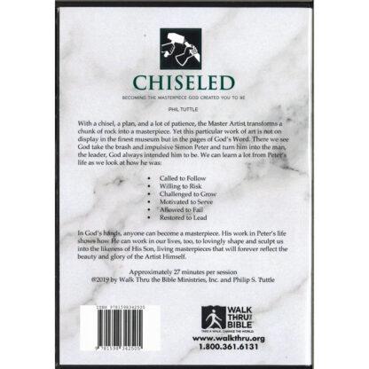 Chiseled DVD Back